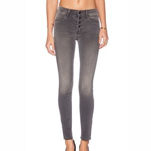 """MOTHER Gray """"the pixie deep voodoo"""" Skinny Jeans"""